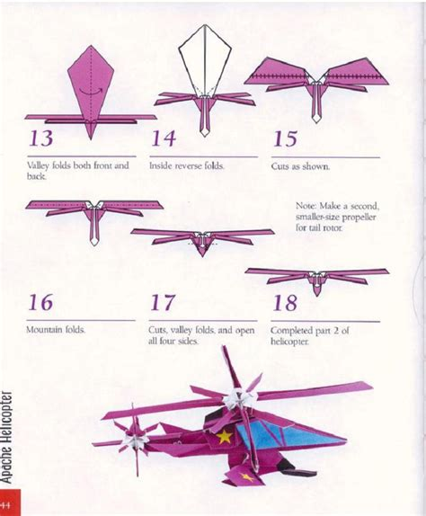 Origami Helicopter That Flies - origami that comot