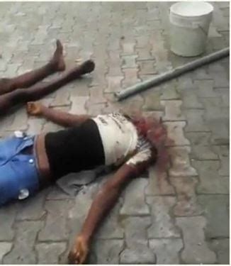 horror! two beheaded by suspected cultists in rivers state