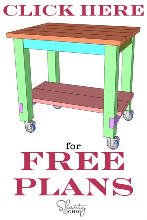 kitchen island plans free diy kitchen island free plans