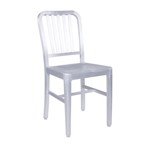 aluminum dining room chairs eurostyle cafe dining chair in matte aluminum 04180