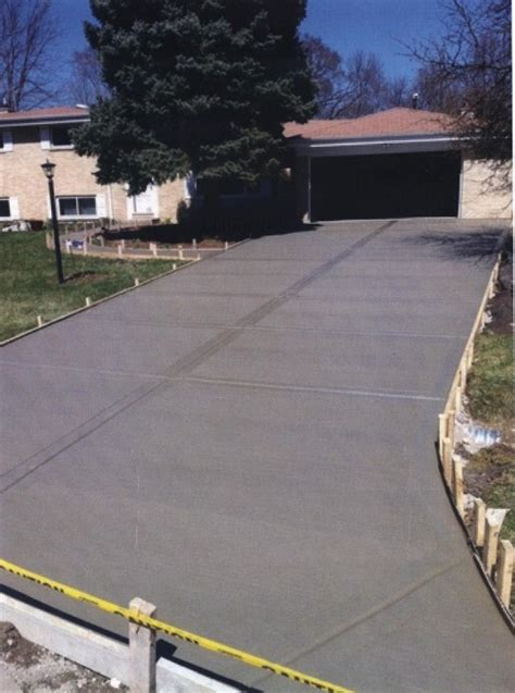 concrete driveway replacement and repair chicago nombach