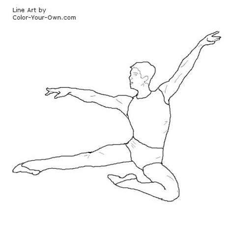 boy dancer coloring page boy dance colouring pages