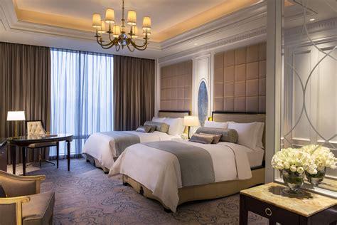 bedroom carlton suite  china  ritz carlton macau