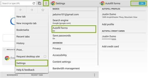 chrome autofill how to use autofill forms in chrome android central
