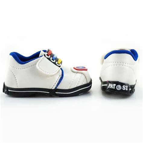 Cbr Six Sepatu Anak Laki Laki Biru Komb Rsc 301 sepatu bunyi bayi walker laki laki tameng captain america