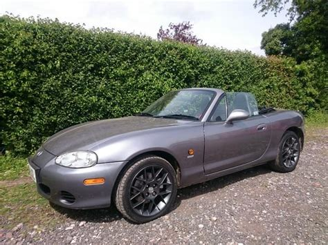 mazda mx5 alloy wheels 2004 54 mazda mx 5 euphonic 1 8 leather service