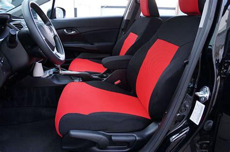 honda civic seat covers honda civic sedan 2012 2014 spacer mesh custom made fit