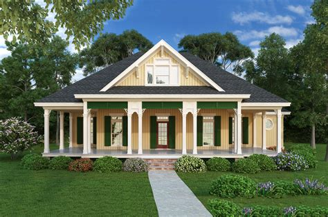 cottage style house plan 2 beds 2 baths 1516 sq ft plan