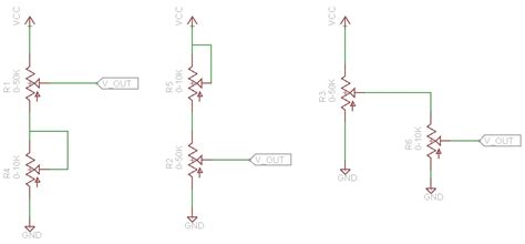 voltage divider circuit for a coarse and setting