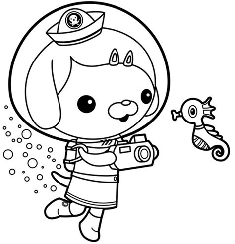 Octonauts Coloring Page free coloring pages of shark octonauts