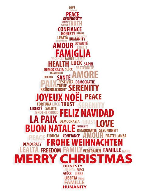 how to say merry christmas in different languages in world