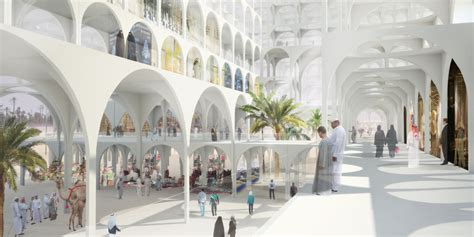 Building Design Program sou fujimoto proposes quot mirage like quot landmark for middle