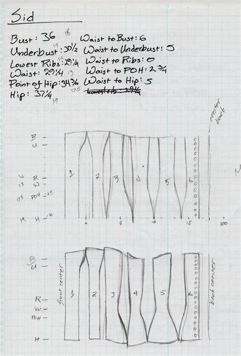 pattern corset download victorian corset pattern by sidneyeileen on deviantart