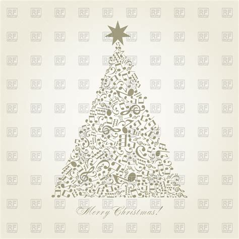 musical notes christmas tree image tree made of musical notes royalty free vector clip image 81088 rfclipart