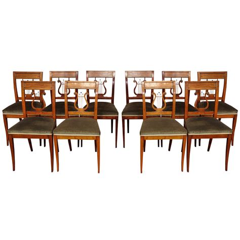 french style dining room chairs ten french directoire style dining chairs for sale at 1stdibs