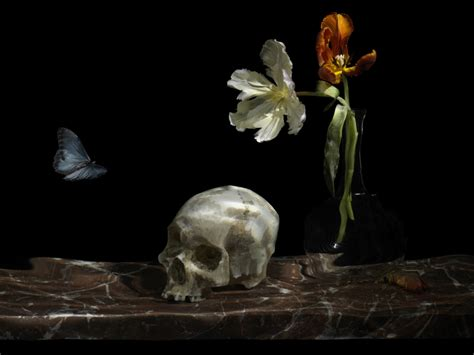 Grade Ori Skull it s a matter of and as nature morte takes a