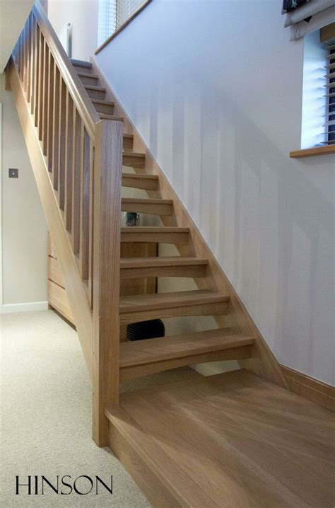 Staircase Riser by Open Riser Solid Oak Stairs Ty Pinterest