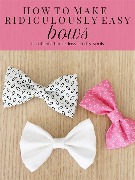 how to make a bow step by step www pixshark images