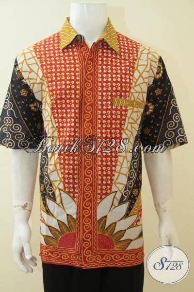 Kemeja Premium Jumbo hem batik halus produk pakaian batik kwalitas