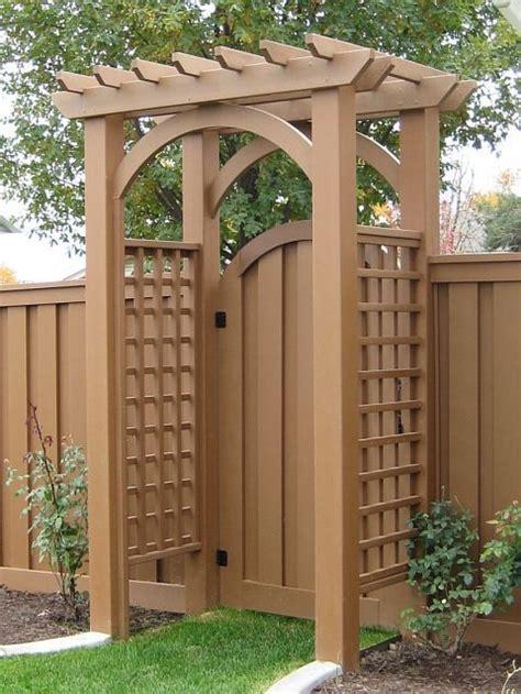 Garden Arbor Gate Designs Best 25 Garden Gate With Arbor Plans Build A Garden Arbor