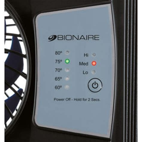 bionaire window fan review bionaire bwf0522e bu thin window fan with comfort control