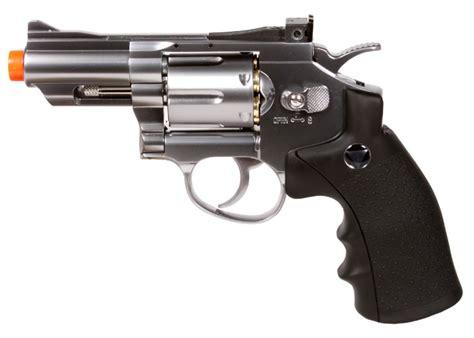 Airsoft Gun Revolver 708 tsd wg 708 co2 airsoft revolver silver black airsoft guns