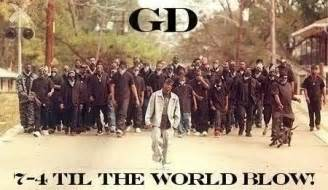 Gangster Disciples graphics and comments O Block Gang Sign