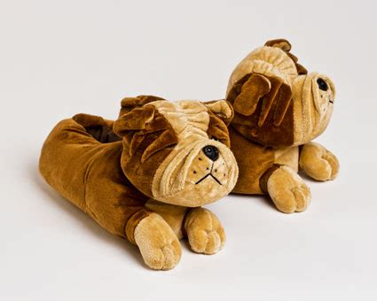 bulldogs slippers bulldog slippers fuzzy animal slippers
