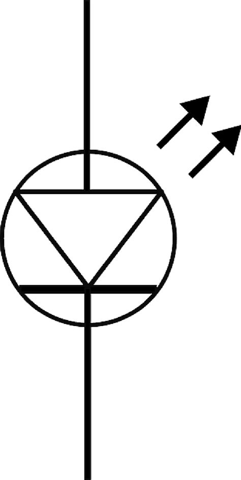 photodiode symbol photo diode symbol clipart best