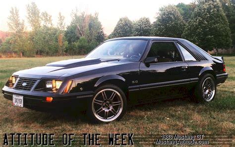83 gt mustang black 1983 ford mustang gt hatchback mustangattitude