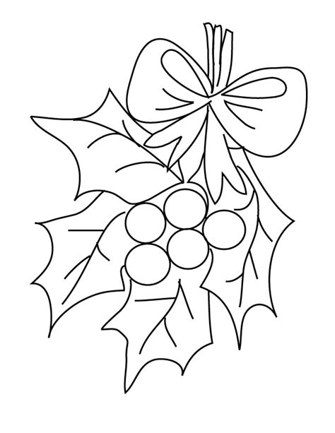 Mistletoe Coloring Page mistletoe coloring page az coloring pages