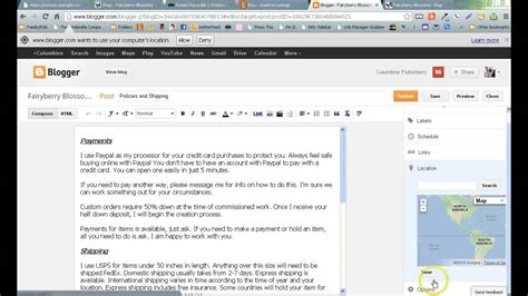 blogger uses how to use blogger posts pages and tabs youtube