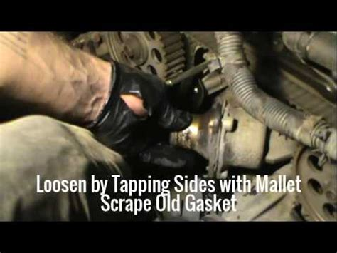 remove a tensioner for a 2000 nissan xterra timing belt timing belt tensioner water pump thermostat