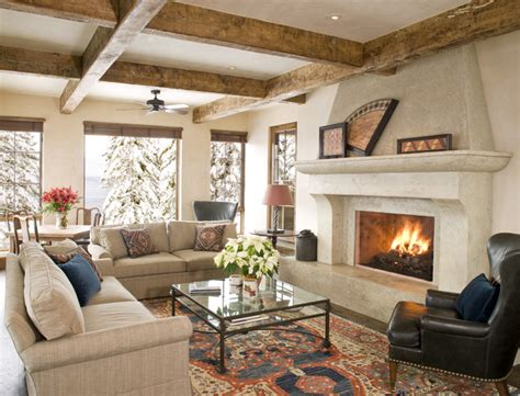 Traditional Living Room Ideas Houzz Mountain Chic Traditional Living Room Other Metro