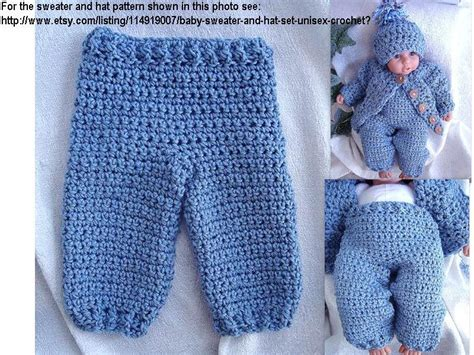 pattern toddler jeans instant download pdf crochet pattern long pants for baby