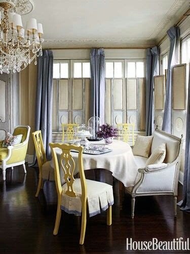 Blue And Yellow Dining Room Ideas Slate Blue Yellow Dining Room Interior Design