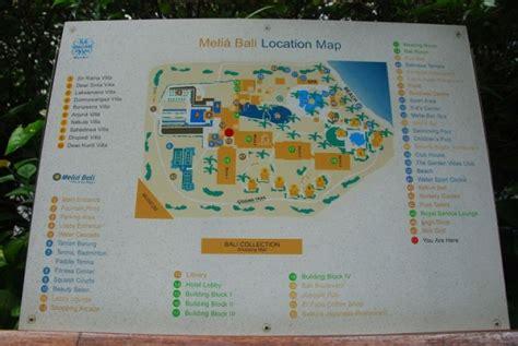 bali garden resort map melia bali the garden villas 5 каталог отелей