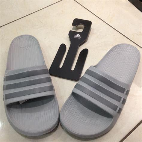 Adidas Sepatu Slip On Abu Abu jual adidas duramo slide abu size 46 sendal slip on