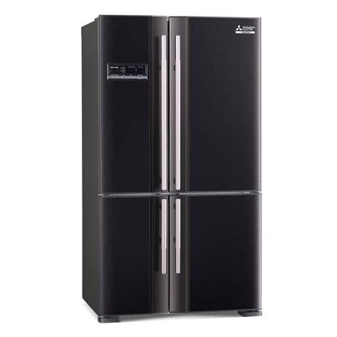 mitsubishi electric refrigerator mr l650eh db a french door 650l fridge mitsubishi