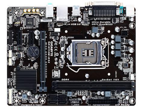 Harga Murah Gigabyte Ga H110m Ds2 Socket 1151 gigabyte ga h110m ds2 socket 1151 computer shopping