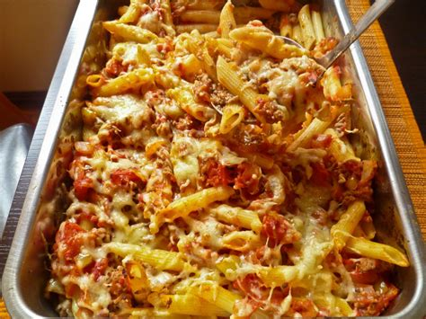Easy Cold Pasta Salad easy bolognese pasta bake confused julia