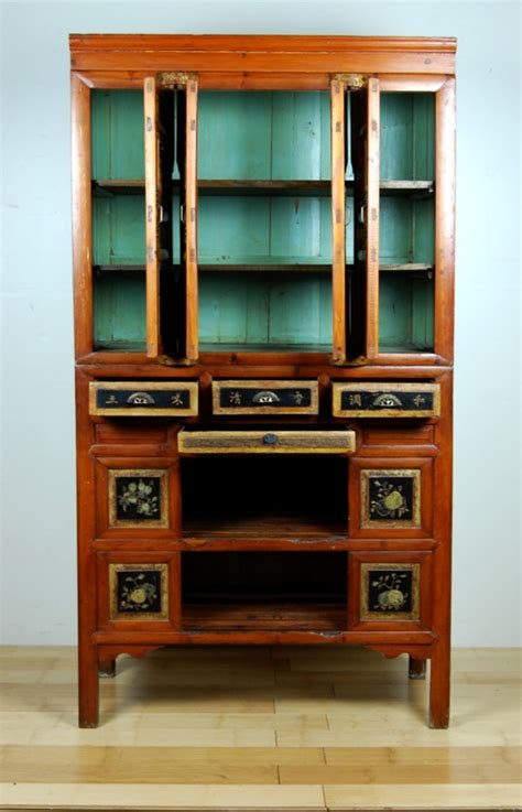 Antique Pantry Cabinet by Antique Kitchen Pantry Cabinet Fujian Pine Wood