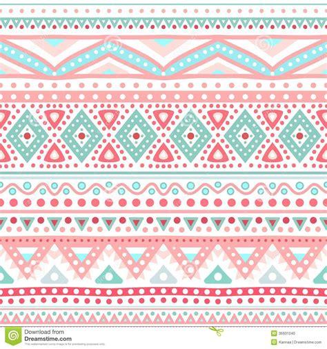 cute aztec pattern tribal ethnic seamless stripe pattern vector stock photo