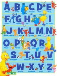 sesame alphabet poster picassomio
