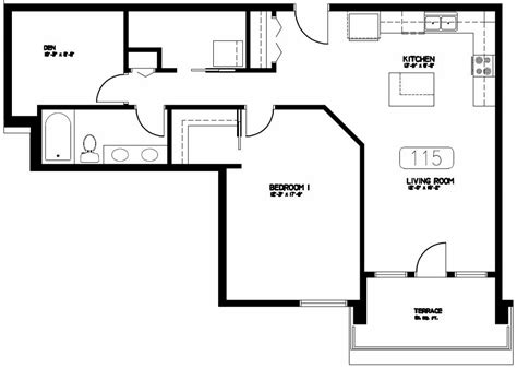 1 bed 1 bath condo floor plan student apartments the cayman 171 headstart on a home