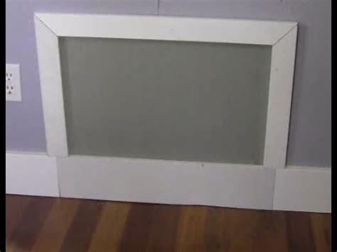 Bathroom Closet Ideas by Ricksdiy Making A Simple Drywall Access Panel Wmv Youtube
