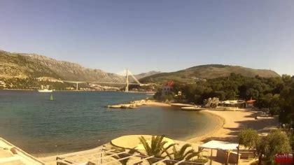 dubrovnik copacabana beach, croatia webcams