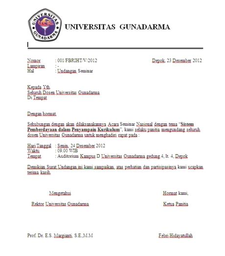 format surat resmi contoh surat undangan febrihidayatullah