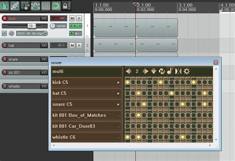 drum pattern sequencer vst sower is a new midi step sequencer for reaper the reaper
