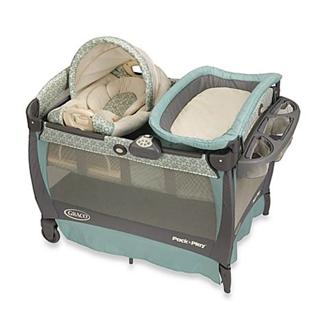 pack and play bed buy graco 174 pack n play 174 playard with cuddle cove rocking